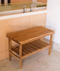 Bathroom and Shower Teak Wood Benches and Seats